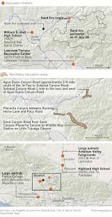 Los Angeles Fires Map by Sand Fire Updates More Than 38 000 Acres Burned In Santa Clarita