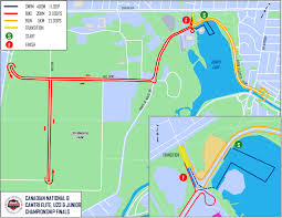 Ncc Map Ottawa International Triathlon Reveals 2017 Course Maps For