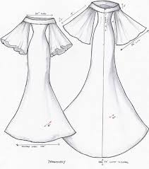 goes wedding new feminine white bridal gown sketch