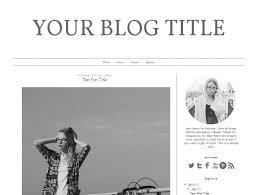 19 best blog design blogger templates images on pinterest