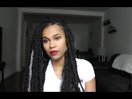 senegalese twist using marley hair havanna twists with marley hair for beginners detailed video