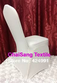 White Chair Covers For Sale Online Shop High Quality 1pcs Universal White Spandex Wedding