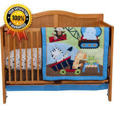 Construction Crib Bedding Set Construction 3 Jungle Baby Crib Bedding Set With