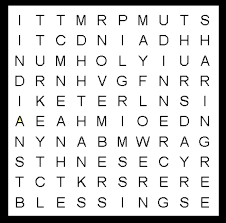 thanksgiving word search puzzle 10 word