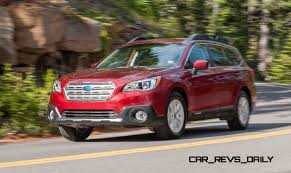 subaru red 2015 subaru outback review