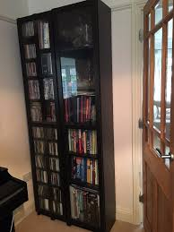 ikea billy bookcase glass doors ikea billy bookcase with glass doors black brown excellent