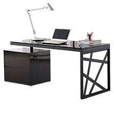 Desks Modern Modern Desks Krauss Desk W File Eurway Furniture
