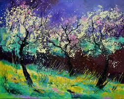 pol ledent artwork spring 657130 original painting oil