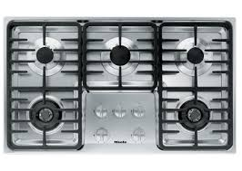 Miele 36 Induction Cooktop Miele Stainless 5 Burner Natural Gas Cooktop Km3475g