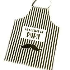 acheter tablier cuisine tablier de cuisine la cuisine de papa moustache noir achat