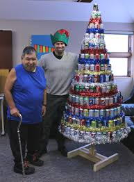yellowknife association crafts parade float out of pop cans my