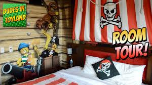 legoland hotel california lego pirate room tour themed resort