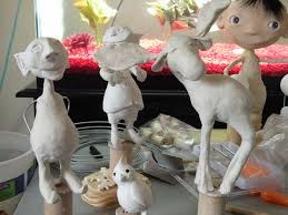 busylittleelf the paperclay process