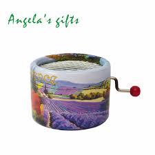 aliexpress com buy romantic provence hand crank music box