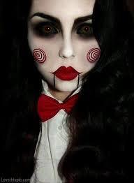 Scary Costumes Halloween 25 Jigsaw Costume Ideas Jigsaw Makeup Jigsaw