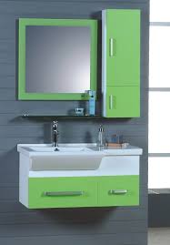 Bathroom Sink Cabinet Ideas Bathroom Sink Cabinets Solid Side Support Gray Stained Wooden Legs