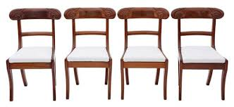 Regency Dining Chairs Mahogany Dining Chairs Mahogany Regency The Uk U0027s Premier Antiques Portal
