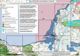 Map Of West Coast Maps Of Current Oil U0026 Gas Licences In Somerset U2013 Frack Free Somerset