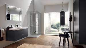 Grey And White Bathroom by Aquo