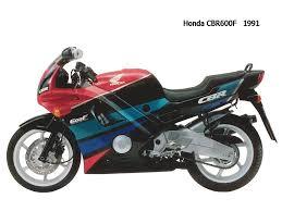 1991 honda cbr600f moto zombdrive com