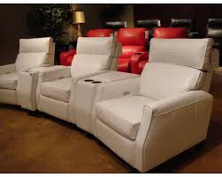 theater seats home rust specially treated microfiber home theater seats wrecliners