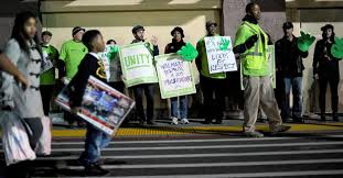 walmart workers plan widespread strikes and protests