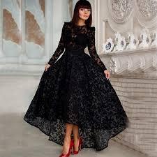 black vintage lace prom dresses naf dresses