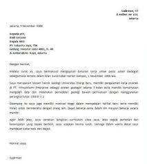 contoh surat lamaran kerja dengan cq contoh surat untuk lamaran