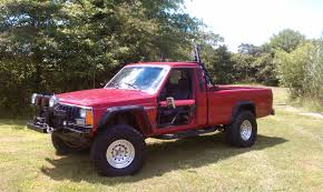 1986 jeep comanche lifted another babyrod 1987 jeep comanche regular cab post 3651326 by