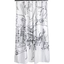 bathroom unique shower curtain by marimekko shower curtain