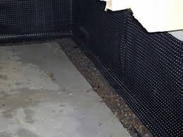Interior Basement Drainage System Stops Leaks Inside Basement Waterproofing Systems French Drains