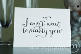 card to groom from wedding card to your or groom i can t wait to you