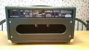 Custom Head Cabinet Custom Super Champ Xd Head Cabinet Only Reverb