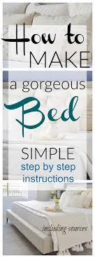 bed making bed making step by step decor gold designs
