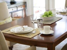 Black Wooden Dining Table And Chairs How To Refinish A Dining Room Table Hgtv