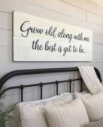 bedroom wall decor ideas large bedroom sign every is beautiful but ours is my