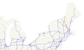 Massachusetts Blank Map by U S Route 3 Wikipedia