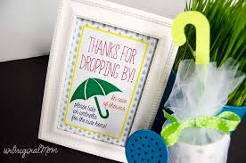 umbrella baby shower favors unoriginal