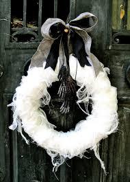 Halloween Outdoor Decorations Stylish U0026 Spooky Halloween Outdoor Decoration Ideas This Wreath