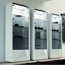 Modern Curio Cabinets Curio Cabinets Shop Display China Cabinet Corner Glass