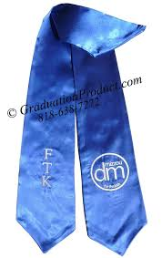 customized graduation stoles ftk graduation stole sashes as low as 3 99 high quality low