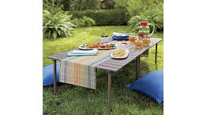 How To Make A Picnic Table Bench Cover by Table In A Bag Crate And Barrel