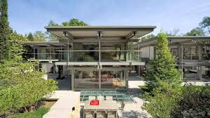 modular house contemporary steel framing metal picture on