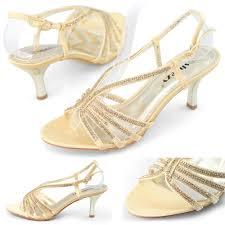 Wedding Shoes Small Heel Gold Wedding Shoes Low Heel Is Heel