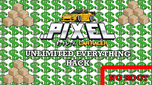 pixel car transparent pixel car racer unlimited money diamonds hack no root youtube
