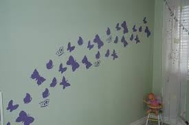 butterfly wall mural on wallpaperget com