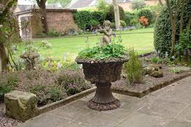 Stone Urn Planter by Antique Stone Urn Planter 19th Century English From Adams