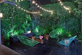 Backyard String Lighting Ideas Outdoor String Lighting Ideas Landscape Modern With Commercial