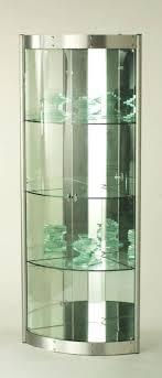 curved corner curio cabinet modern corner curio cabinet contemporary curved corner curio cabinet