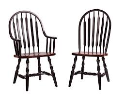 341 al 301 old towne early american dining arm chair rustic cherry